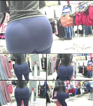 Big Booty see thru